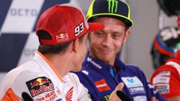 MotoGP Qatar - Marc Marquez Bukan Takut Pada Jorge Lorenzo tapi Malah Pembalap Ini