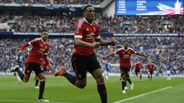 Gol Injury Time Martial Antar Manchester United ke Final Piala FA