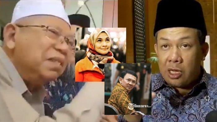 Video Maruf Amin Bicarakan BTP Beredar, Fahri Hamzah Minta Polri Cek Kebenarannya, Hanum Sebut Ini