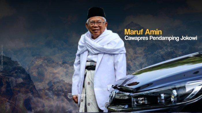 Ma'ruf Amin Akui Lebih Nyaman jadi Pengurus PBNU dan Ketua MUI Ketimbang Cawapres