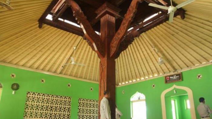 Kisah Unik Masjid Bertiang Tunggal Peninggalan Keraton Ngayogyakarta