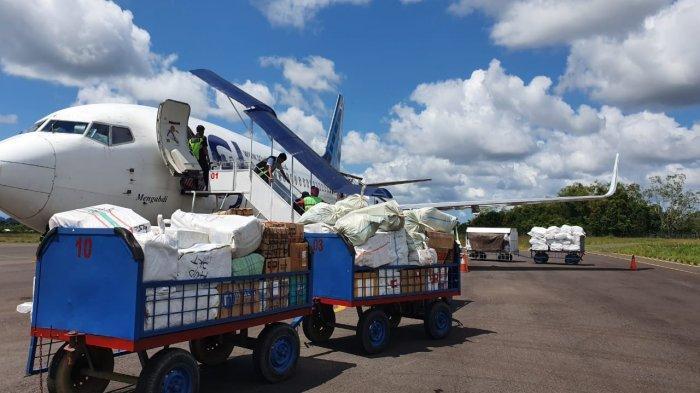 Lakukan Penyesuaian, Sriwijaya Air Angkut Penumpang dan Kargo, Khusus dari Tanjungpandan ke Jakarta
