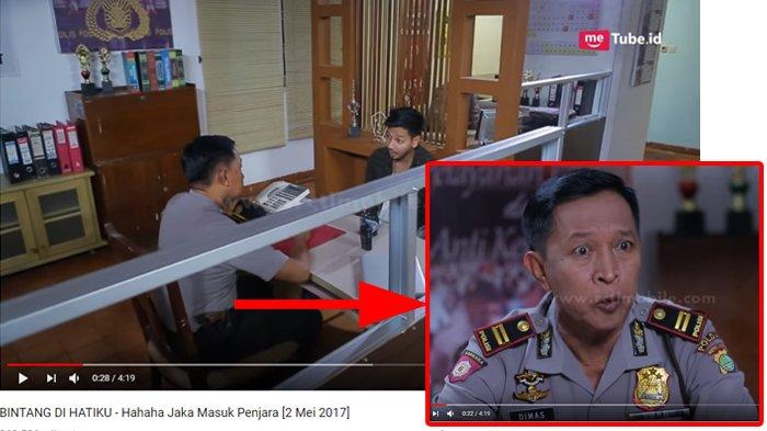 Masran dalam satu frame bersama Sonny Septian dalam sinetron Bintang di Hati Ku. Youtube RCTI - LAYAR DRAMA INDONESIA/posbelitung.co.