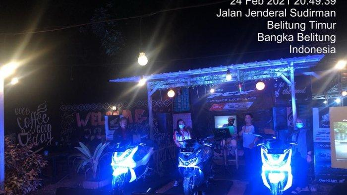 Resmi Honda PCX 160cc tiba di Pulau Belitung, Product ini resmi dirilis oleh PT Astra Honda Motor.