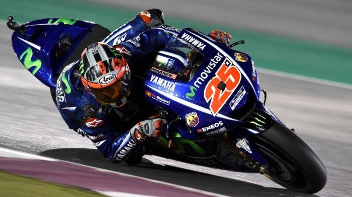 Vinales Juarai GP Qatar, Rossi Podium Tiga