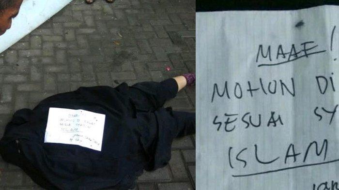 Wanita Bercadar Ditemukan Tewas di Halaman Masjid, Ada Surat Misterius di Dekat Tubuh, Begini Isinya