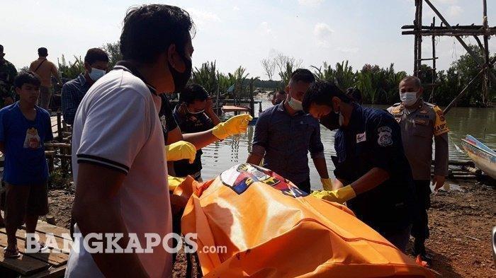 Ciri-ciri Mayat Mengapung di Sungai Pangkalarang Pangkalpinang