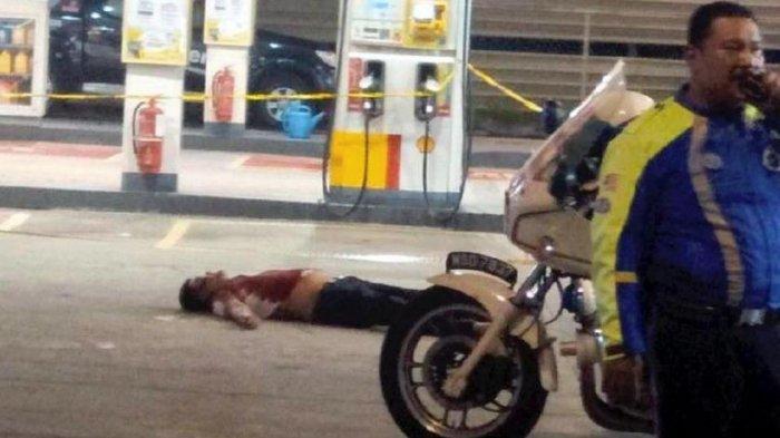 Sadis! Mampir Pom Bensin Bersama Istri, Pria Ini Ditusuk Ramai-ramai Lalu Tubuhnya Dilindas Mobil