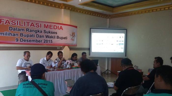 KPU-Media Komitmen Transparan Sukseskan Pilkada Beltim