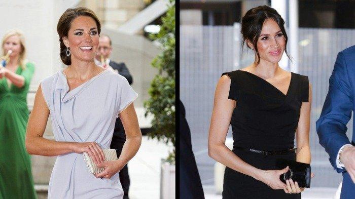 Gaya Busana Kate Middleton dan Meghan Markle Saat Tampil di Acara Kerajaan