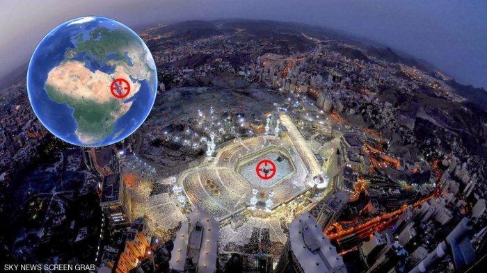 Menakjubkan! Astronot Rusia Beberkan Penampakan Kota Mekkah dan Madinah dari Luar Angkasa
