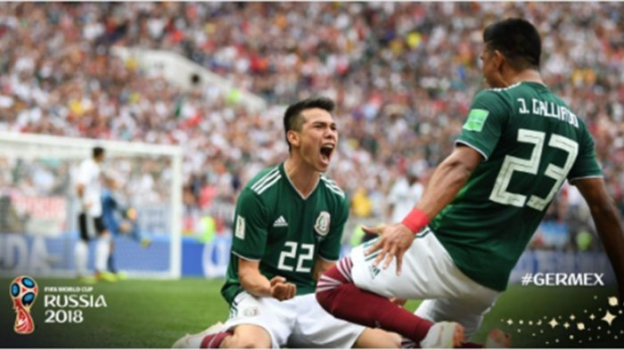 Babak Pertama Usai, Juara Bertahan Jerman Tertinggal 0-1 dari Meksiko