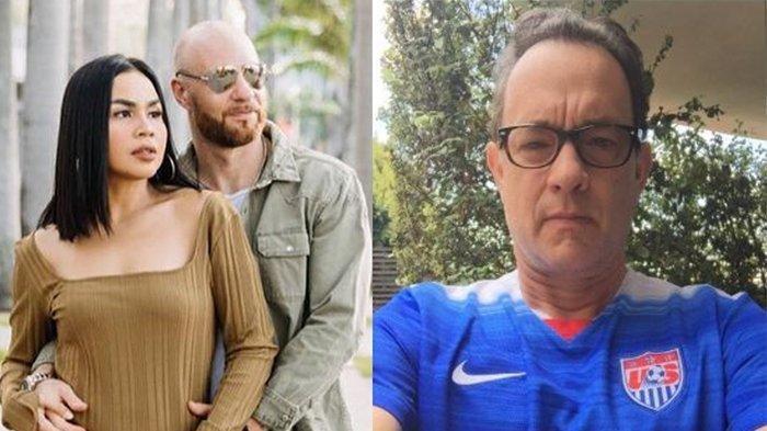 Aktor Hollywod Tom Hanks Positif Covid-19, Melaney Ricardo Kepikiran Suami yang Pergi ke Australia