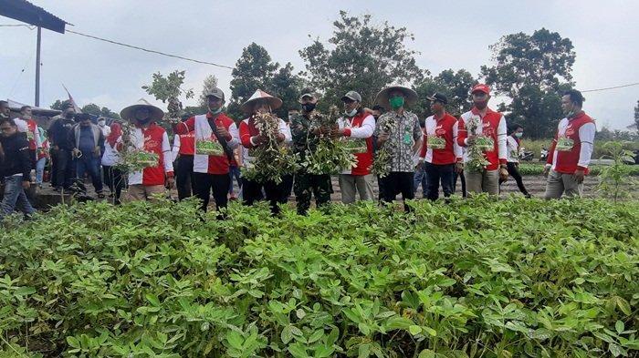 Pasar Tani Desa Air Merbau Dukung Ketahanan Pangan Kabupaten Belitung