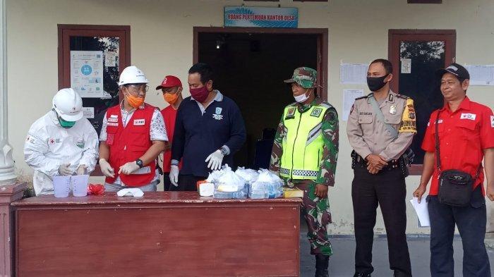 PMI Belitung Latih Desa Membuat Disinfektan