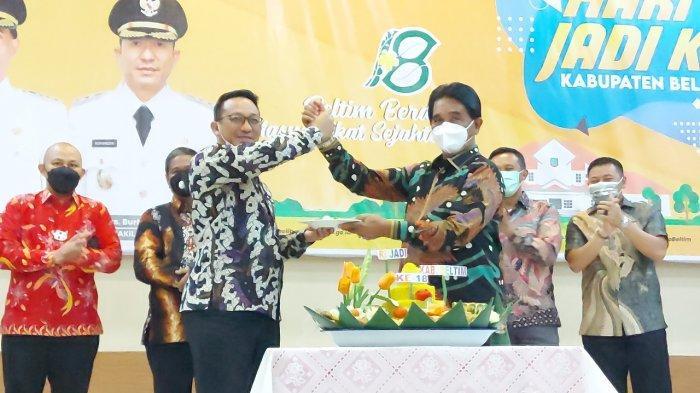 HUT  ke-18 Belitung Timur Momentum Bangkitkan Semangat untuk Wujudkan Pembangunan