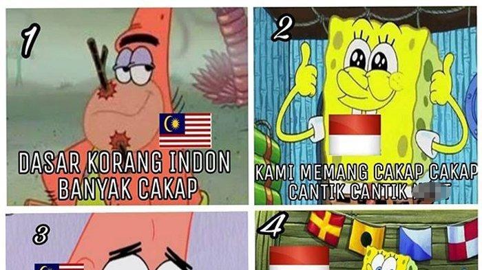 Ini Meme-meme Balasan Insiden Bendera Terbalik Kepada Malaysia, Bikin Ngakak