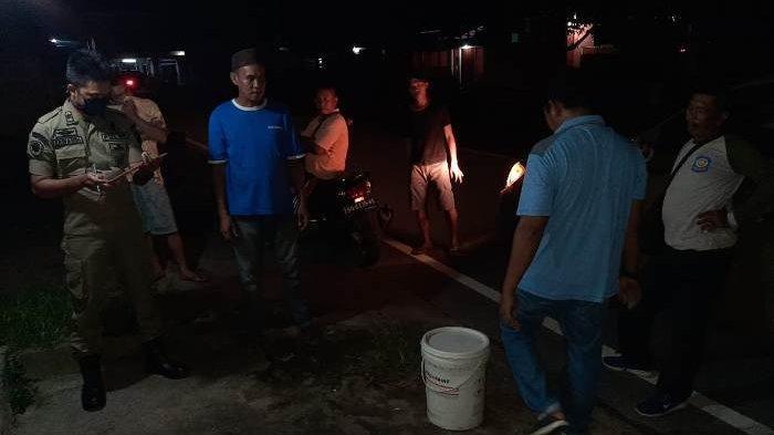 Terima Aduan Dari Warga, Lokasi Penjual Tuak Ini Diciduk Tim Satpol PP Belitung