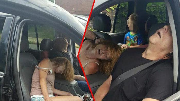 Polisi Temukan Pasangan Suami Istri di Jalan, Dikira Tidur Ternyata Mereka Habis Berbuat Ini