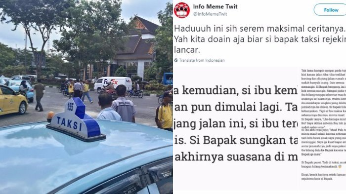 Bikin Merinding! Sopir Taksi Ini Diucapin Terima Kasih Anak Penumpang, Ternyata Sudah Meninggal
