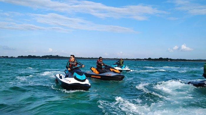 Jet Ski Safari Belitung, Lihat Keindahan Laut Belitung Dengan Cara Sensasional