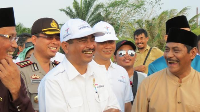 Inilah Tiga Menteri yang Lihat Gerhana Matahari Total di Belitung