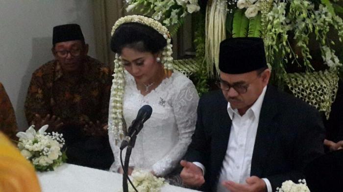 Sehari Sebelum Puasa, Menteri ESDM Menikah