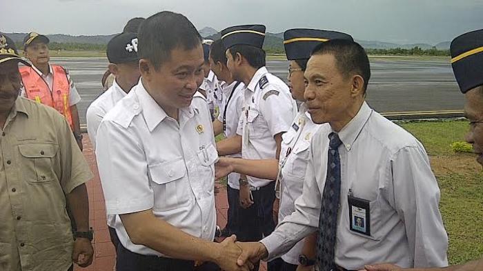 Soal Pelayanan di Bandara H AS Hanandjoeddin Tanjungpandan, Menhub Jonan: Masih Oke Lah