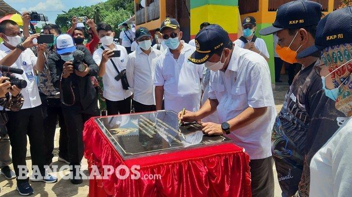 KKP Jadikan Desa Suak Gual Sebagai Percontohan Kampung Nelayan Maju