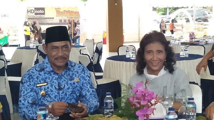 Menteri Susi Minta Belitung Punya Perda Bersih Sampah Plastik