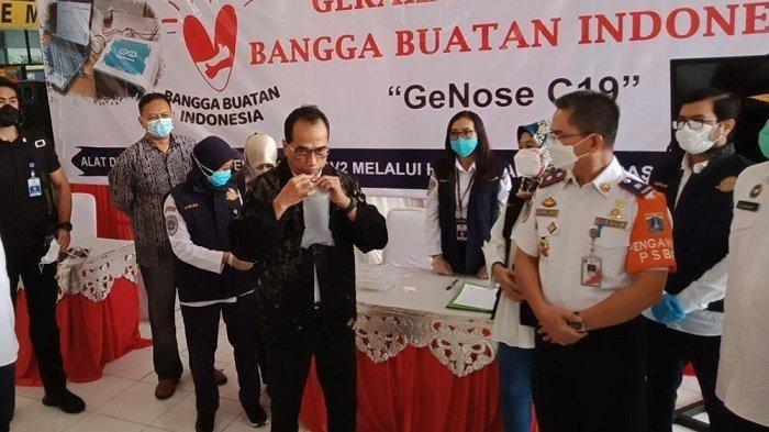 Alat Deteksi Covid-19 GeNose C19 Diuji Coba, Kemenhub Tempatkan di Terminal Kampung Rambutan