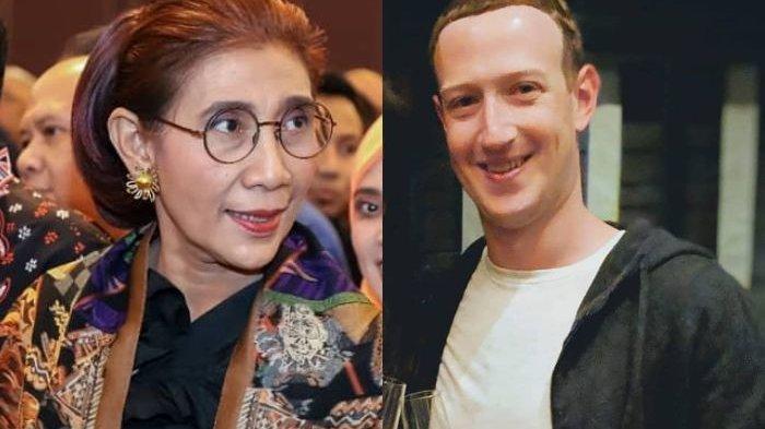 Menteri Susi Tantang Mark Zuckerberg Lomba Paddle