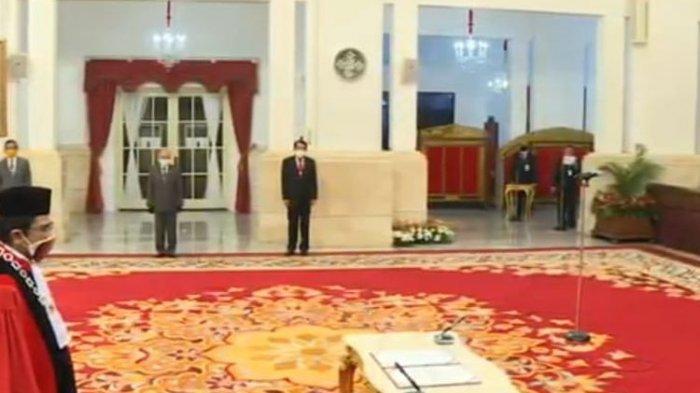 Manahan Sitompul Ucapkan Sumpah Jabatan Sebagai Hakim Mahkamah Konstitusi