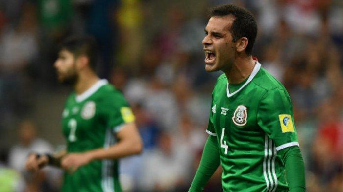 Diturunkan Saat Meksiko Kalahkan Jerman, Rafael Marquez Sejajarkan Diri dengan Legenda Jerman
