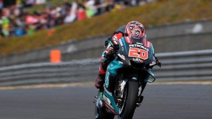 Ini Hasil Kualifikasi MotoGP Andalusia: Marquez Gagal Start, Quartararo Terdepan, Rossi?