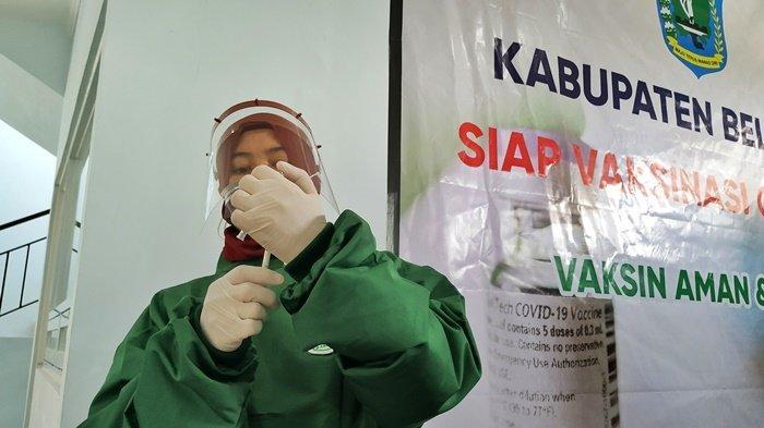10 Penerima Vaksin Covid-19 Perdana di Belitung Bakal Divaksinasi Kedua
