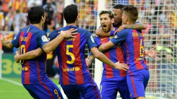 Lionel Messi Cetak Dua Gol, Barcelona Pesta Gol ke Gawang Celta Vigo