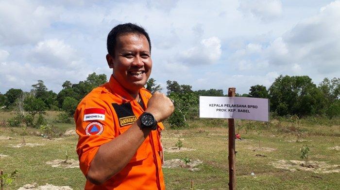 Ketua Sekretariat Puskodalops GTPP Covid Babel Positif Corona, Rasakan Gejala Pulang dari Jakarta