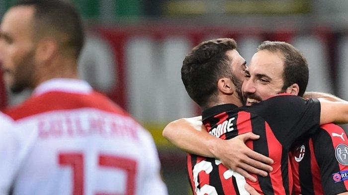Sempat Tertinggal Babak I, Dalam 9 Menit AC Milan Mengamuk untuk Raih Kemenangan