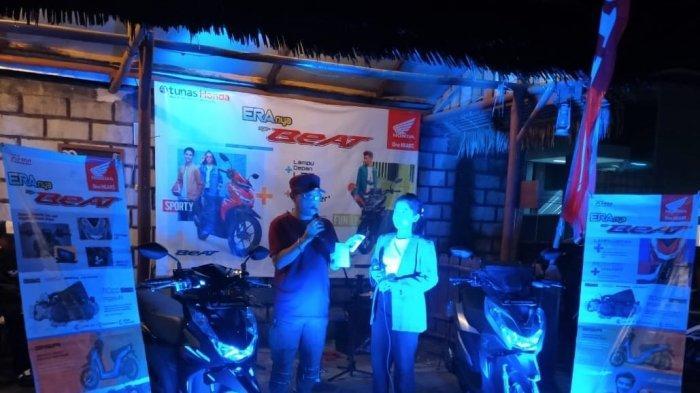 PT Asia Surya Perkasa Gelar Acara Mini Launching New Honda Beat Series