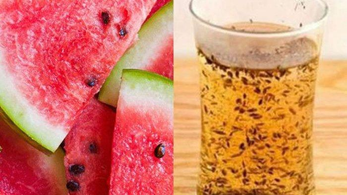 Patut Dicoba! Minum Rebusan Air Biji Semangka Dijauhkan dari Berbagai Penyakit