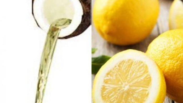Cuma Oleskan Minyak Kelapa dan Jus Lemon ke Kepala! Dijamin Ampuh Cegah Uban