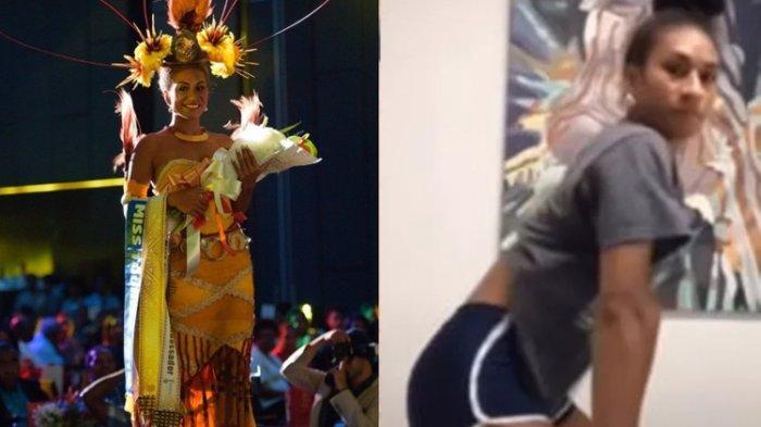 Gegara Goyang Bokong Terlalu Hot di TikTok, Mahkota Miss Papua Niugini Langsung Dicopot