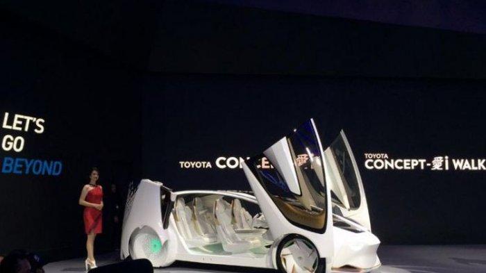 Tanpa Mobil Baru, Toyota Pamerkan Mobil Konsep di GIIAS 2018