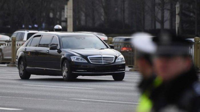 Produsen Mobil Jerman Bingung, Kim Jong Un Kembali Pakai Limosin Saat di Rusia