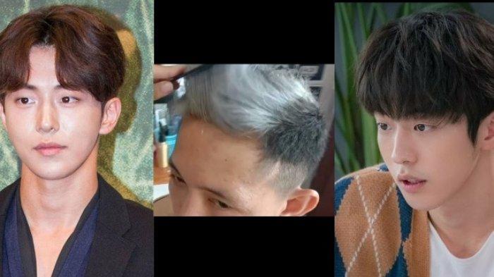 Pengaruh Drama Korea, Ash Hair Jadi Pilihan Gaya Rambut Milenial Cowok Manggar di Desember 2020