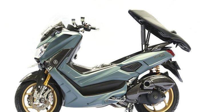 Yamaha NMAX Dipasang Fitur Canggih Terbaik di Final Customaxi