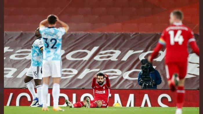 Mohamed Salah Samai Perolehan Cristiano Ronaldo di Liga Inggris, Liverpool Sikat Wolves 4-0