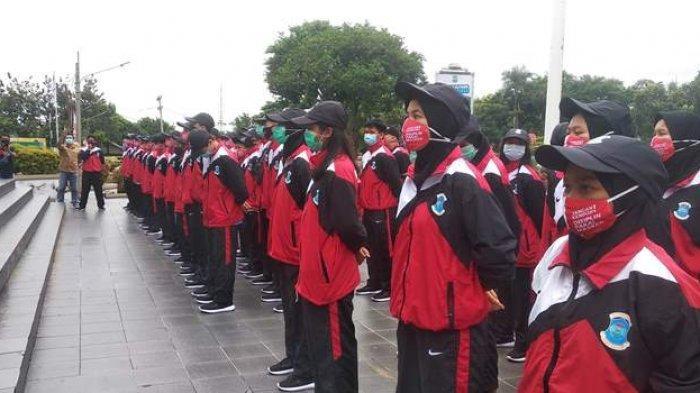 Ini Pesan Wali Kota Pangkalpinang saat Melepas 71 Atlet yang akan Berlaga di Popda Bangka Belitung