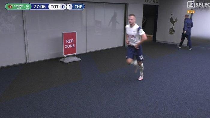 VIDEO Cerita Unik di Laga Tottenham Vs Chelsea Marah, Jose Mourinho Buntuti Eric Dier ke Toilet